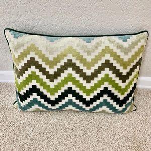 Other - Large lumbar velvet texture pillow
